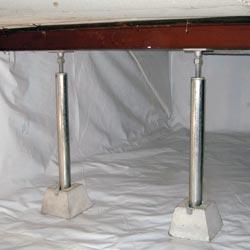 Structural Repair For Sagging Crawl Spaces