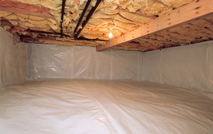 CleanSpace® vapor barrier after in Carmel