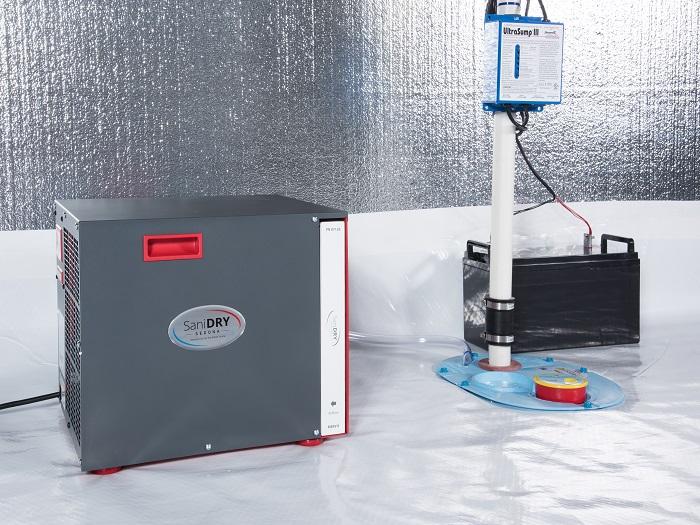 Humidity Control & Crawl Space Sealing